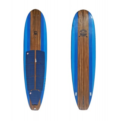 Stand Up Paddle Blue Wood